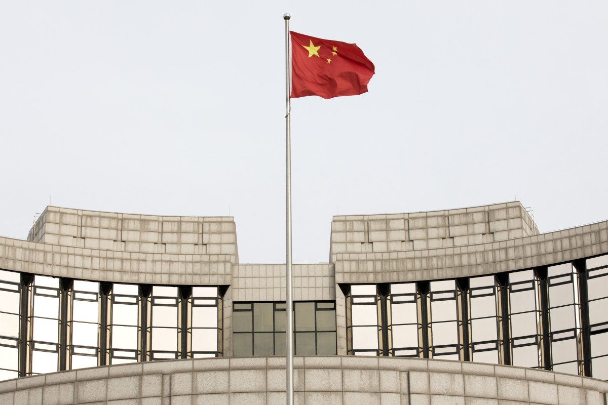 The People's Bank of China (PBOC), China's central bank, said on Friday that new yuan loans surged to 3.23 trillion yuan (US$476.97 billion) last month. Photo: Bloomberg