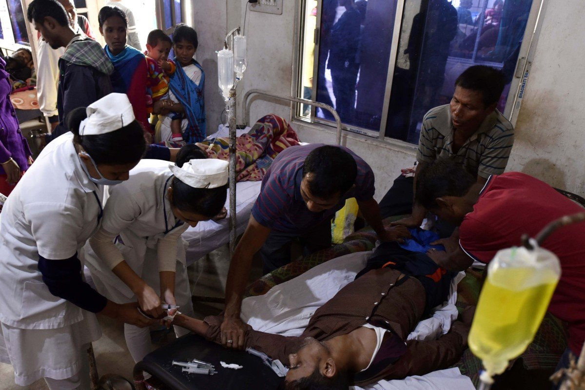 69 workers die after drinking bootleg liquor in India's Assam