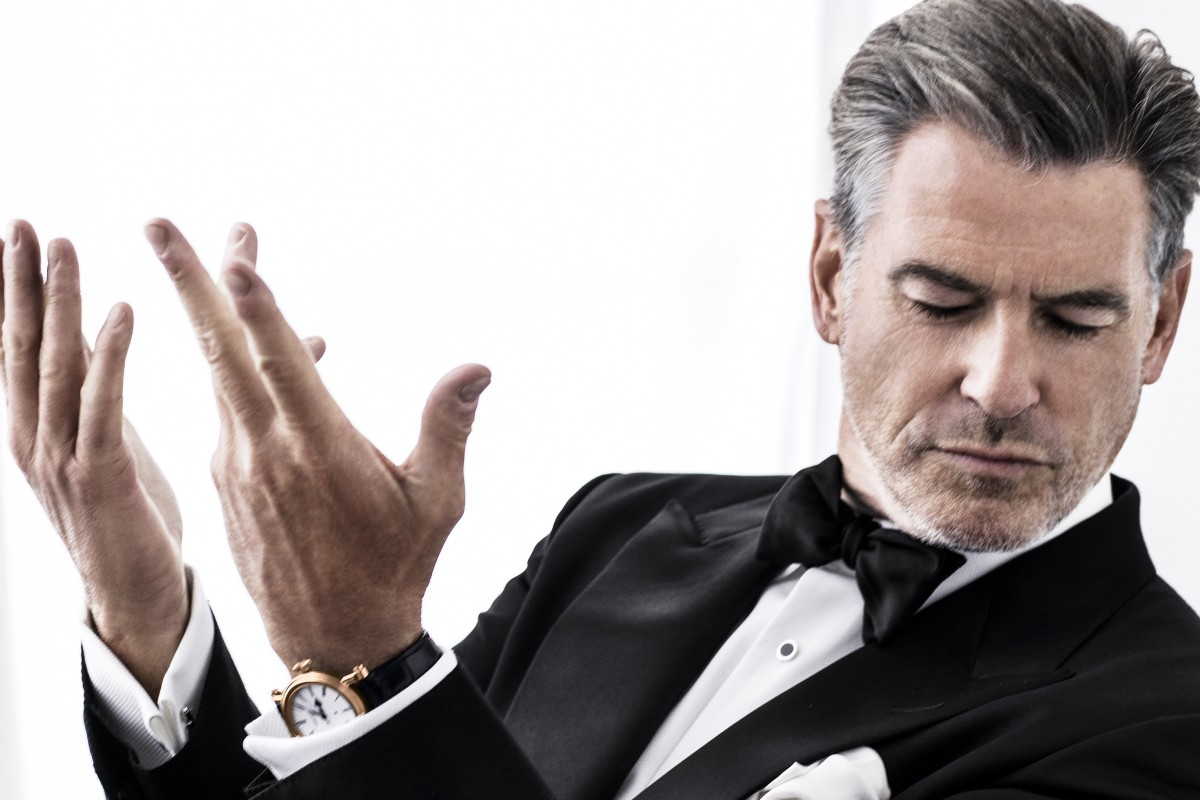 Former James Bond Pierce Brosnan talks watches, making movies and how he likes to spend his spare time