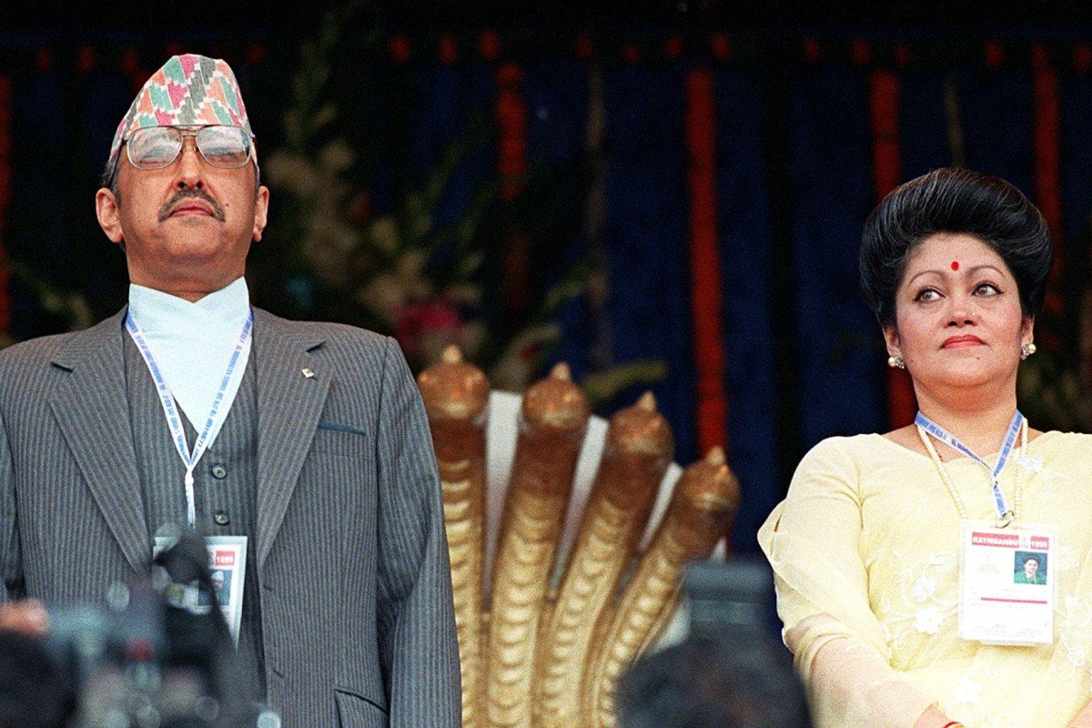 f0ed6b3f33fc4a Nepal s King Birendra and his wife Queen Aishwarya were killed in 2001 by  the crown prince