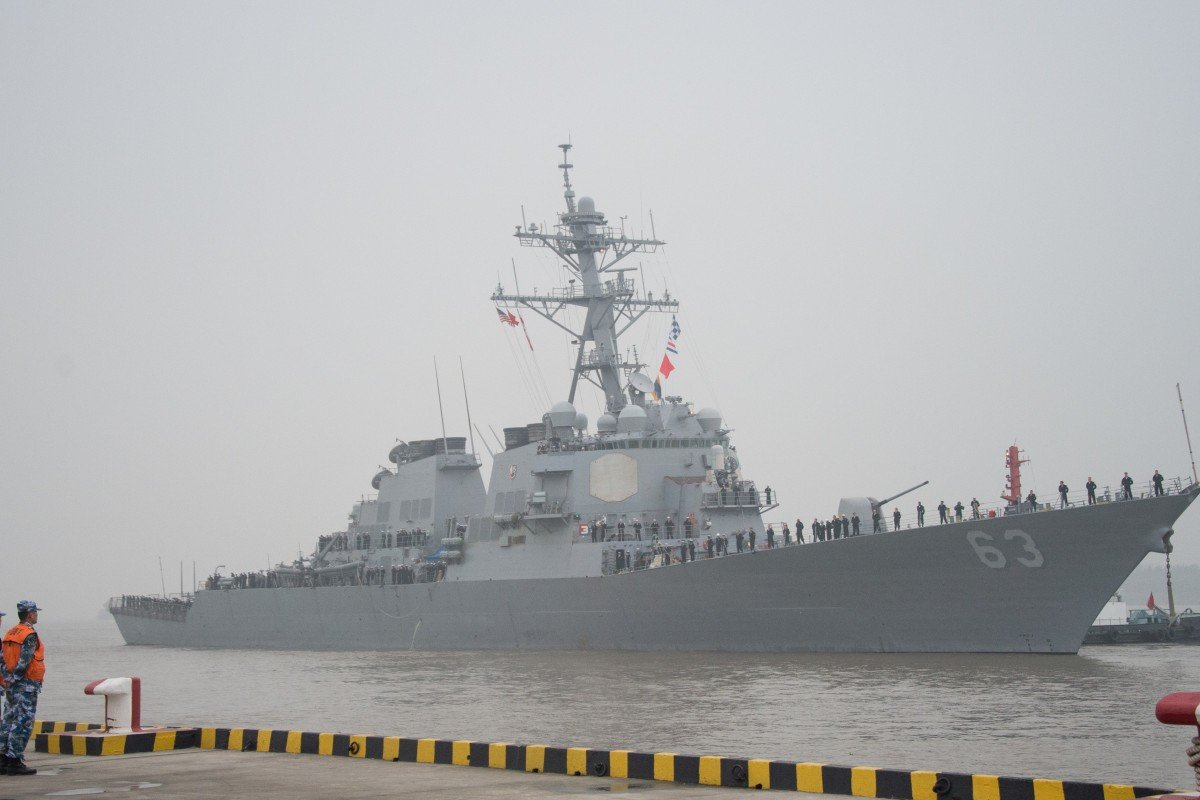 China protests against US 'provocation' after two American warships
