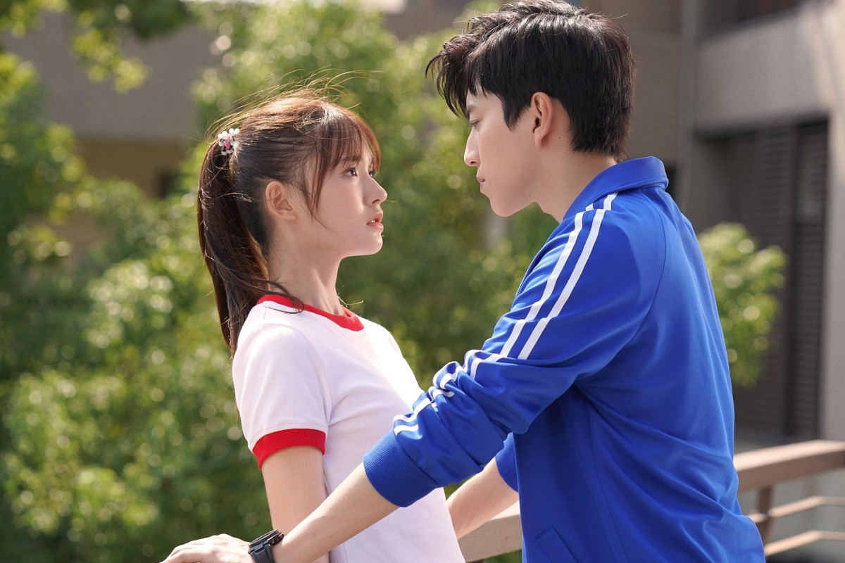 Darren Wang and Jelly Lin in a still from Fall in Love at First Kiss (