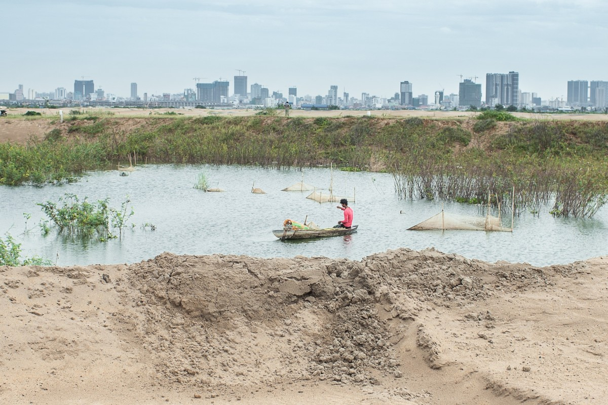 Phnom Penh's vanishing lakes put Cambodian capital in peril – and harm livelihoods of fishermen, farmers