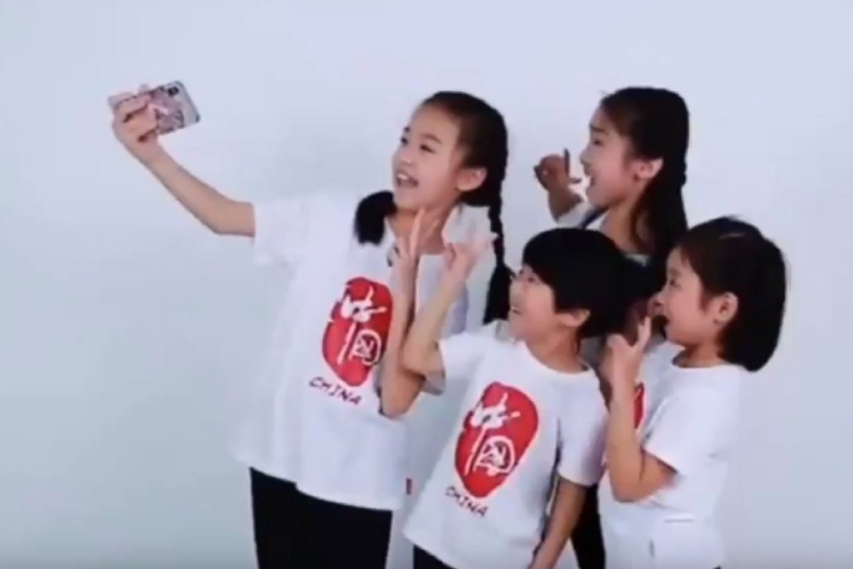 Watch Chinese children singing praise for 'Huawei the Beautiful' in