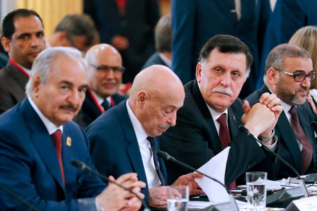 Libya rivals Fayez al-Sarraj and Khalifa Hifter agree to