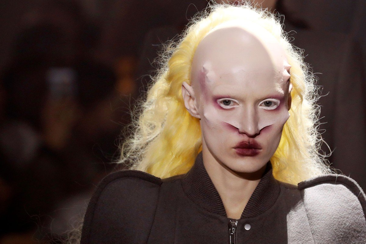 fc86c33775d Paris Fashion Week  When Rick Owens  grotesque models and alien ...