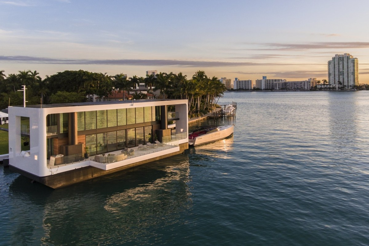 A peek inside the US$6 million floating home that can withstand a