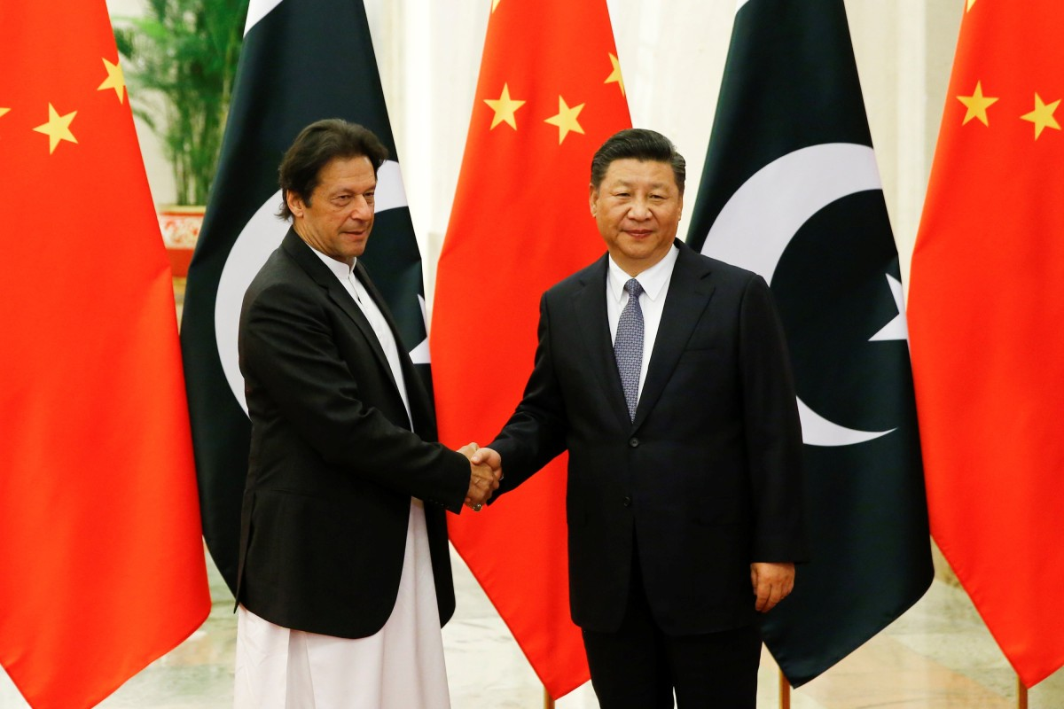 492ca71077 Pakistani Prime Minister Imran Khan with Chinese President Xi Jinping.  Photo: Reuters