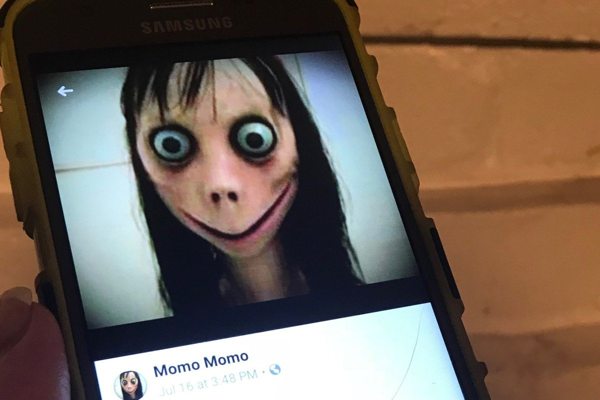 Momo challenge' fears in Hong Kong, as school principal warns