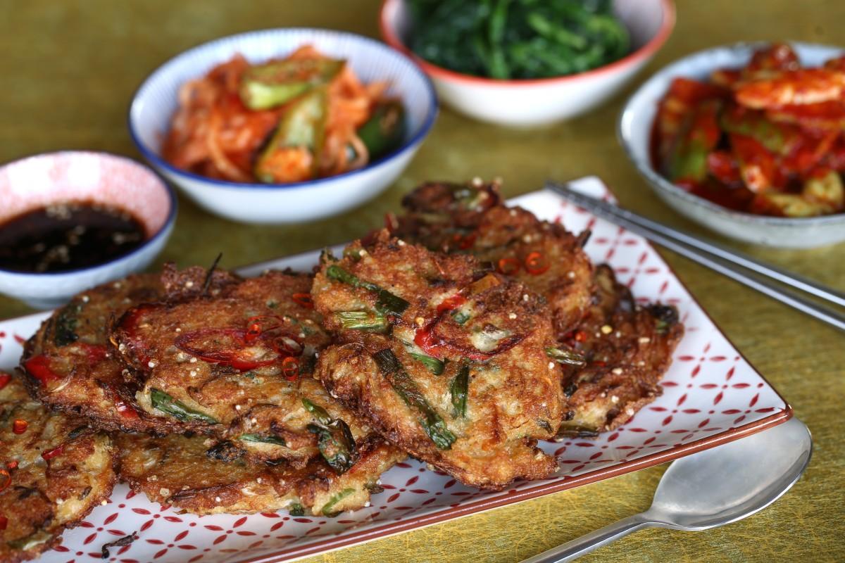 Peachy Savoury Pancake Recipes How To Make Korean Bindaetteok And Cjindustries Chair Design For Home Cjindustriesco