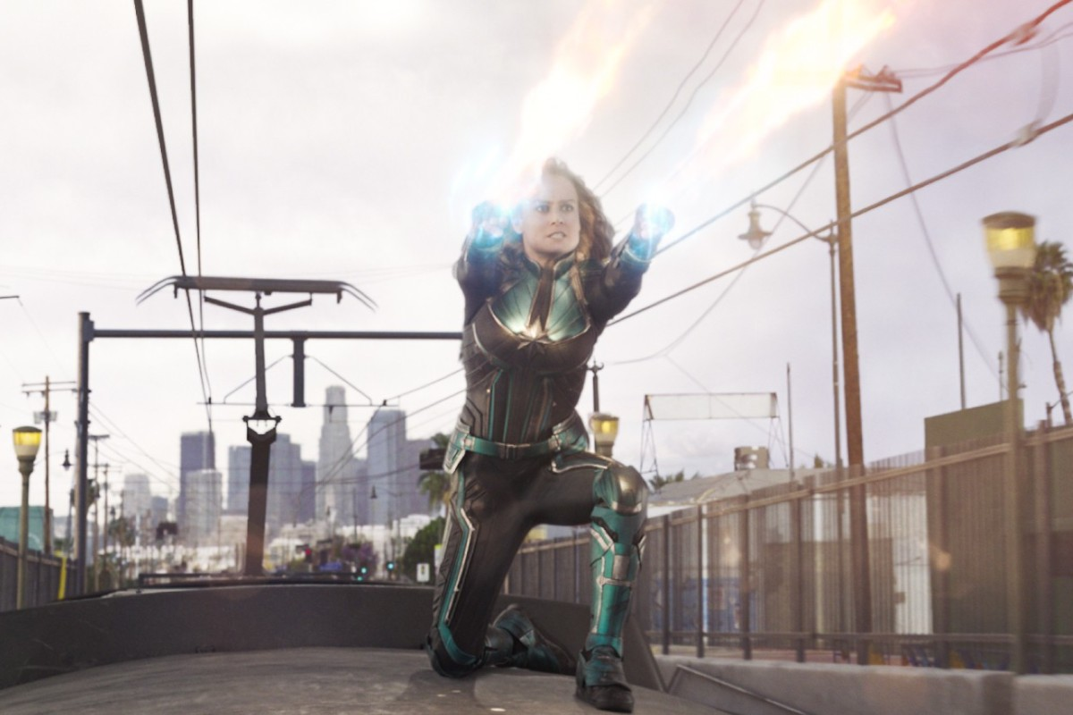 0bc8be6f0cc Brie Larson as Carol Danvers Captain Marvel in a still from Captain Marvel.