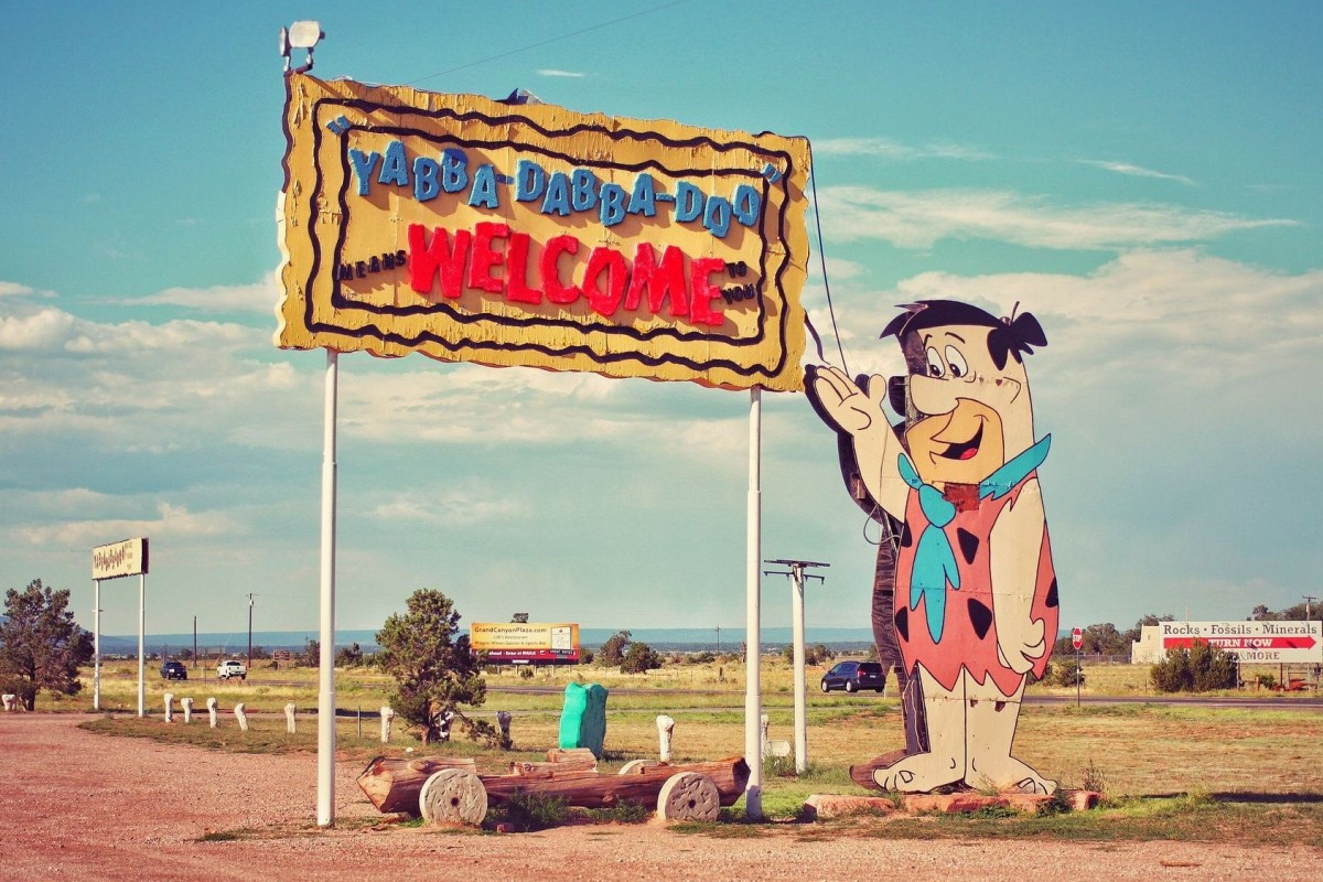 Gay old closing time – Flintstones theme park near the Grand Canyon