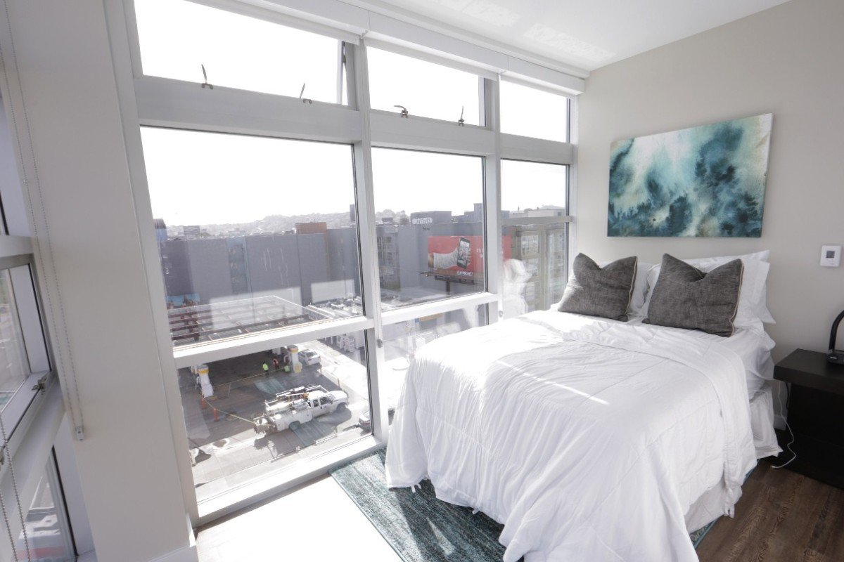 546337eb3e9 An example of a bedroom in San Francisco offered by match maker HomeShare.  Photo