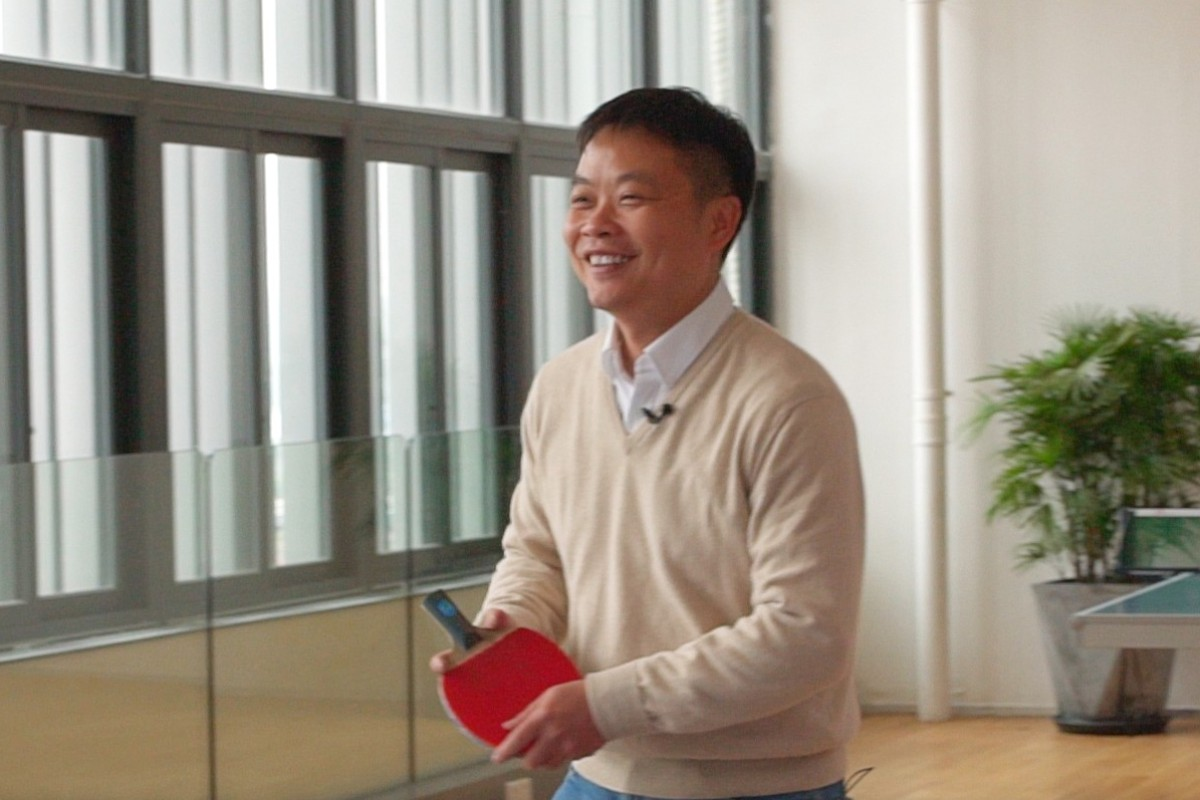 2e8d38ca9f Xpeng CEO He Xiaopeng finds lessons in ping pong challenge for his ...