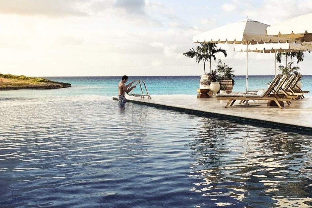 huge discount 5cbb4 42b03 The sea-view infinity pool at the Belmond Cap Juluca, Anguilla. Picture