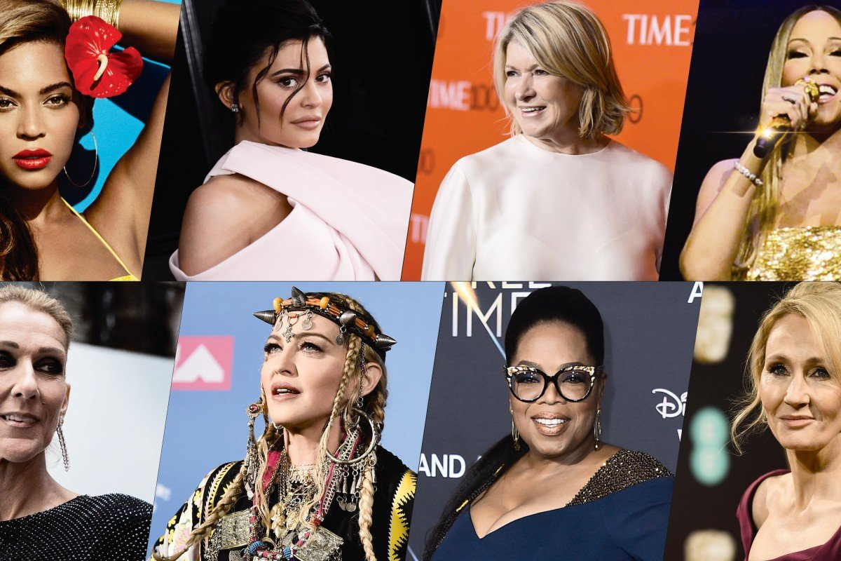 From Kylie Jenner to Martha Stewart: the 8 richest female