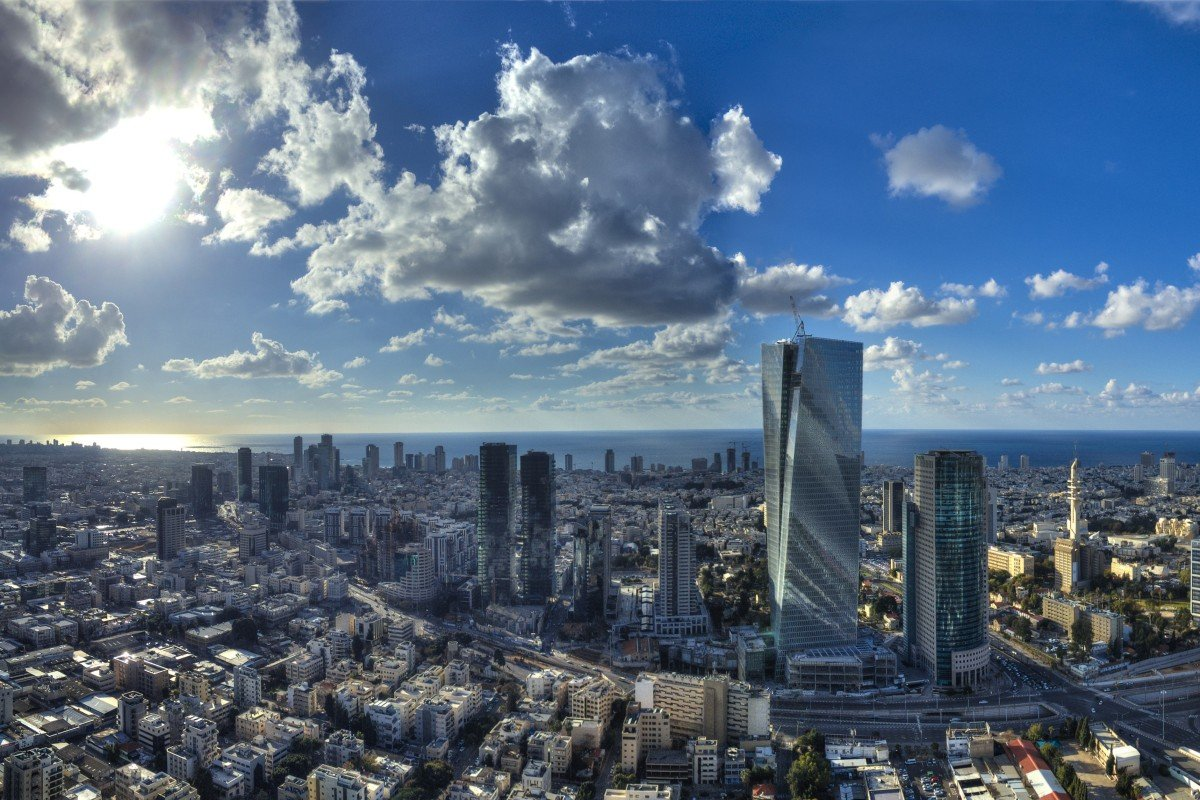 The skyline of Tel Aviv, the financial centre of Israel and its second most populous city after Jerusalem. Photo: Shutterstock