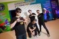 Yo-yo world champion Hiroyuki Suzuki and a European breakdance trio strut their stuff at Cityplaza.