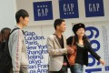 Unfazed by rising rents, Gap sees Chinese shoppers at stores like this one in Beijing as the key to growth.Photo: AFP