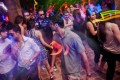 Men and women dance at Centrifuge, an underground rave held on the outskirts of Islamabad to avoid prying eyes. Photo: Reuters