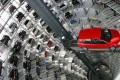A car storage silo in Germany, where the flash composite PMI fell to a three-year low. Photo: AFP