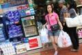 Chain stores at Tseun Wan, including pharmacies, are reaping the benefits of more mainland visitors. Photo: David Wong