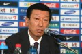 Choi Kang-hee, the head coach of the South Korean squad for the 2014 FIFA World Cup in Brazil, announces the roster for a match with Uzbekistan. Photo: EPA
