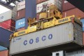 China Cosco's first-half net loss was much greater than the same time last year but the result was not a surprise. Photo: Bloomberg