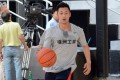 Shawn Yue in action in Shanghai.