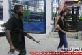 Armed members of Benghazi-based Ansar al-Sharia (Libya),  the group Washington suspects of carrying out the attack on the US Consulate in Benghazi on Monday, are seen in this photo released by the group on Wednesday. Photo: AFP