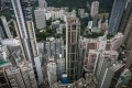 High-rise buildings in Hong Kong on August 13, 2012. Photo: AFP