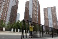 Newly built apartment blocks in Beijing. The central government is planning to stop building subsidised housing after 2015. Photo: Reuters