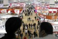 The Canton Fair usually attracts tens of thousands of visitors but how many will be back and book hotel rooms this year. Photo: Bloomberg