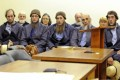 Five of Samuel Mullet Snr's followers appear in an Ohio court last year accused of hate crimes. Photo: AP