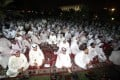Kuwaiti men protest in front of the parliament. Photo: AFP