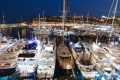 A picture taken on September 19, 2012 shows yachts moored at Port Hercules in Monaco during the 22th edition of the International Monaco Yacht Show. Photo: AFP