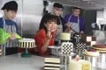 Bonnie Gokson samples some of the latest delicacies at her Ms B's CAKERY.