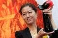 Baptist University presents Wang Anyi with the award in Tsim Sha Tsui yesterday. Photo: Dickson Lee