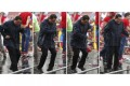 Hugo Chavez dances in the rain before a large crowd on the final campaign day before tomorrow's presidential vote. Photo: Reuters