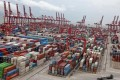 Container throughput at Shenzhen, the mainland's second-busiest port, rose 1.4 per cent in the first eight months. Photo: Bloomberg