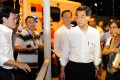 Leung was on the scene almost immediately to evaluate the situation.  Photo: SCMP