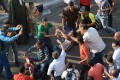 Supporters of Mohammed Mursi clash with liberal and leftist protesters in Cairo. Photo: AFP