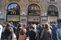 McDonald's in Galleria Vittorio Emanuele II, Milann, has now closed its doors to make way for Prada. Photo: EPA