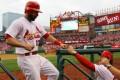 Matt Carpenter #13 of the St. Louis Cardinals. Photo: AFP