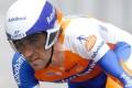 Rabobank rider Carlos Barredo of Spain. Photo: AP