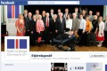 The Facebook page of the committee that put the six constitution-related questions to voters in a referendum. Photo: AFP