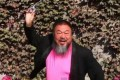 A screengrab from Ai Weiwei's YouTube video.