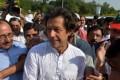 Pakistan cricketer turned politician Imran Khan. Photo: AFP