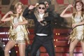 "Singer Psy performs ""Gangnam Style""."