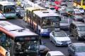 Heavy traffic in Beijing. Photo: Simon Song